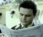 vidéo publicité ziarul journal homme gifle femme