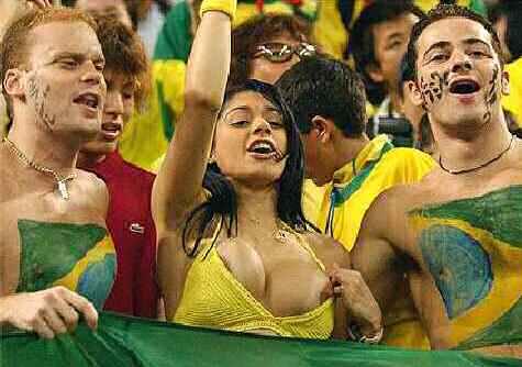 supporter bresilien foot