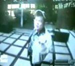 vidéo camera video surveillance tentative cambriolage distributeur voleur brique