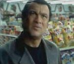vidéo publicite parodie moutain dew boisson steven segal attaque braquage supermarche