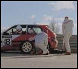 vidéo publicité milwaukee heavy duty pitstop changement de pneu avec outil trop puissant