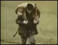 vid�o publicit� visual chasseur confond biche cerf avec son chien et le cherche