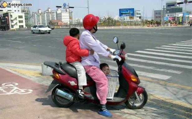 image rigolo scooter humour insolite