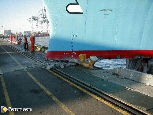 image bateau accident quai humour insolite